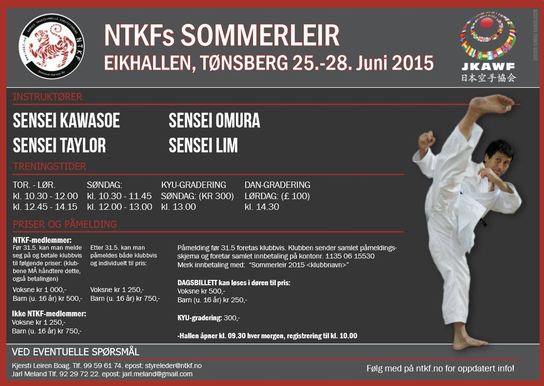 NTKF sommerleir 2015