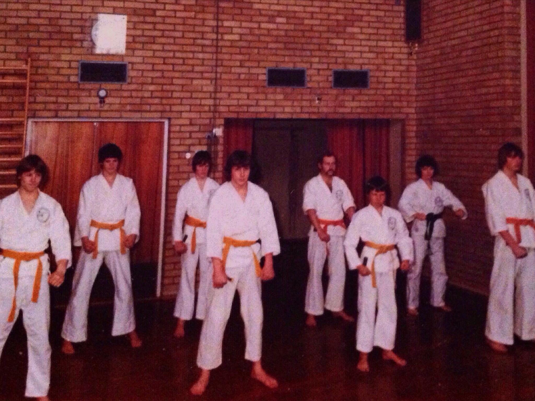 Sem Karateklubb 1980 på Ringshaug skole